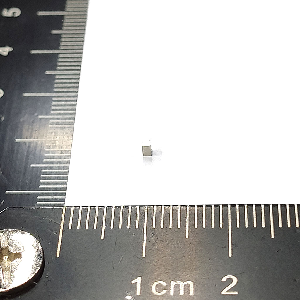 超強釹鐵硼磁鐵-L1.2x1x1.8-ND45SH