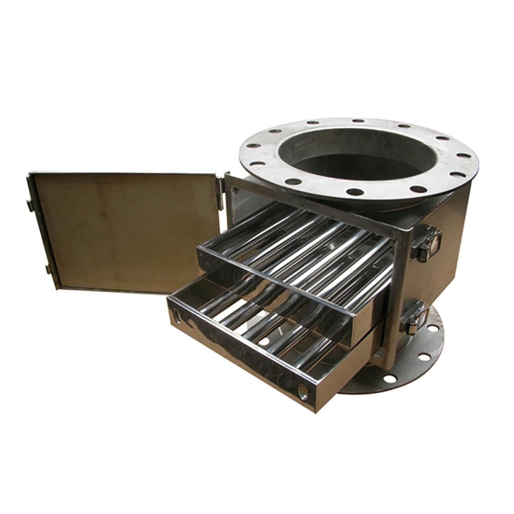 含琺瑯組箱體之多層抽取式超強磁棒組